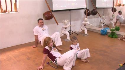 Aula de capoeira 4
