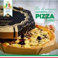 Pizza em casa com a grife Lellis
