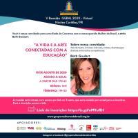 Beth Goulart participa de evento virtual em Curitiba