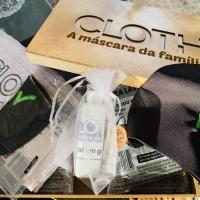 Cloth máscaras de proteção feitas de neoprene