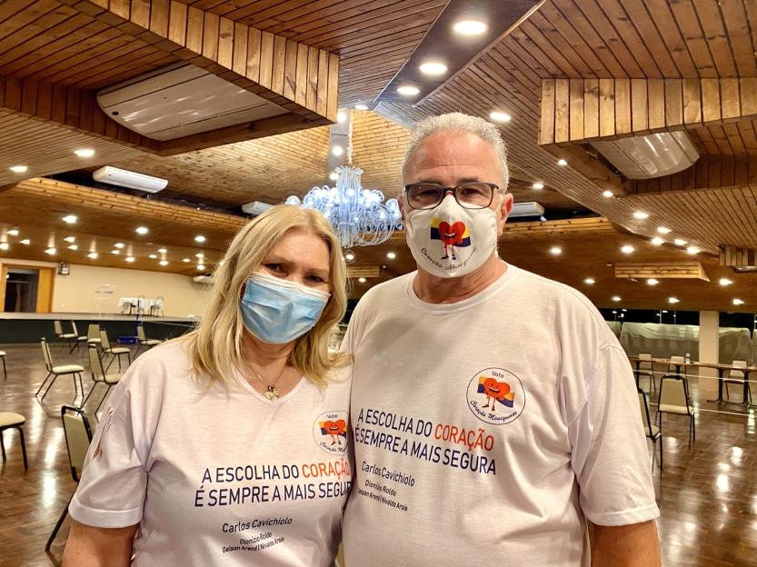 Legenda Foto 01 Elizabeth Cavichiolo e Carlos Cavichiolo
