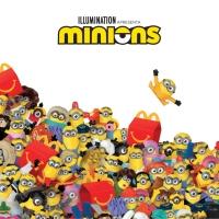 Minions invadem o McDonald's