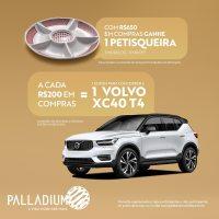 Em comemoração ao Natal, Palladium Curitiba sorteia carro importado e distribui brinde exclusivo aos clientes