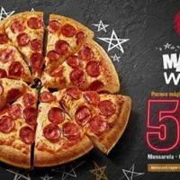 PIZZA HUT - Magic Week da Pizza Hut tem promoções da pizza grande com 50% de desconto