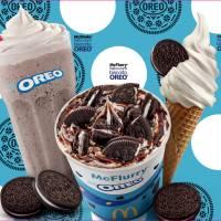 McDonald's lança três novas sobremesas com Oreo