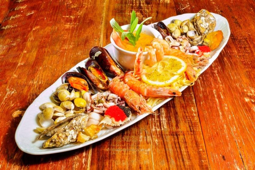 Anarco - mix de frutos do mar