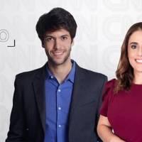 """Caio Coppolla e Rita Lisauskas estreiam no quadro """"Liberdade de Opinião"""""""