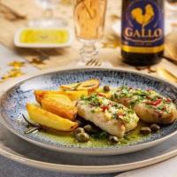 Receita de lombos de peixe com batatas salteadas para um ano cheio de sabor