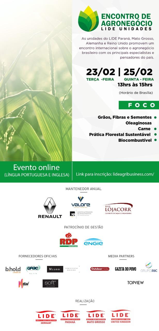 Convite Encontro Agro