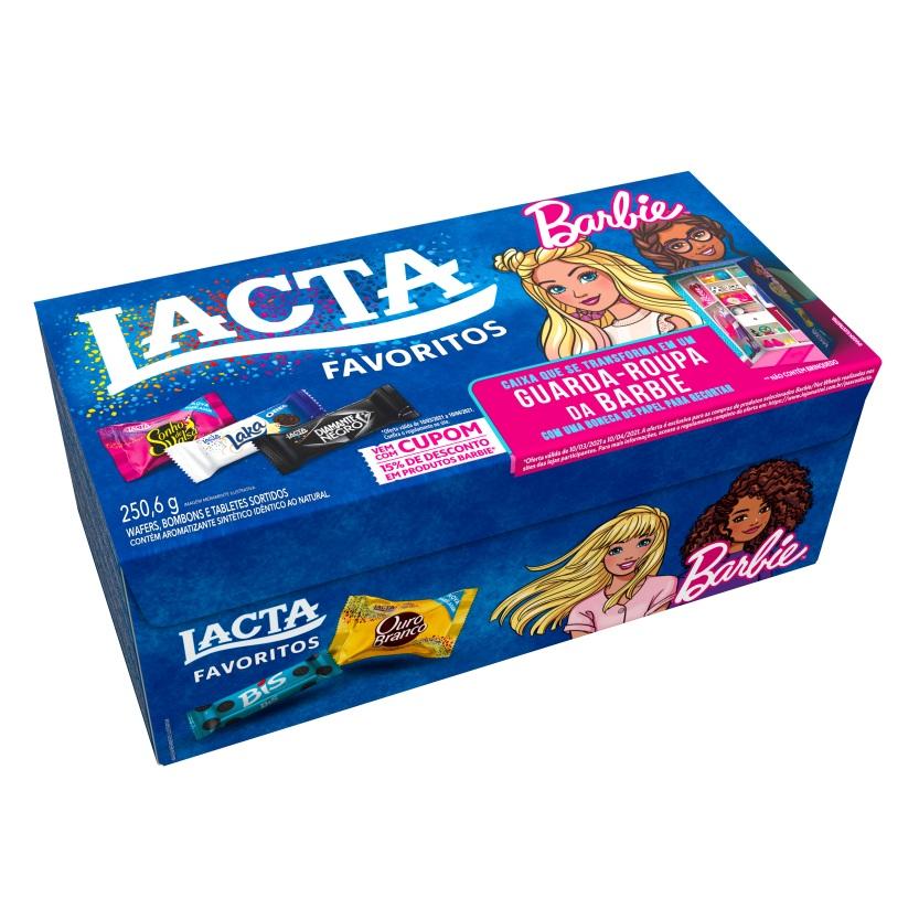 Caixa Lacta Favoritos_Barbie