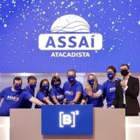 Assaí estreia na Bolsa de Valores e ações disparam
