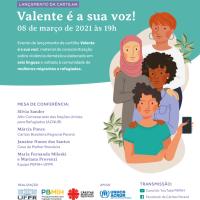 Cartilha sobre violência doméstica destinada a mulheres migrantes e refugiadas é lançada em evento online