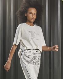 T-Shirt Fem Regenerate Life Eco e Lenço Pareaux Bandeiras Eco
