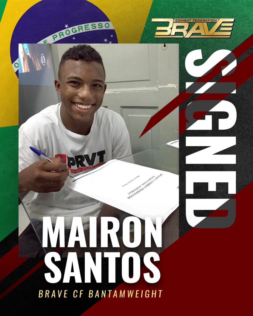 Mairon Santos - BRAVE CF