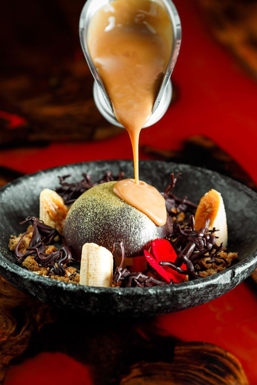 ox room steakhouse - sobremesa banoffe ball - foto apparatus divulgacao