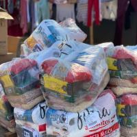 Obra Nossa compra 2.000 cestas básicas em Páscoa Solidária e beneficia mais de 10 mil pessoas