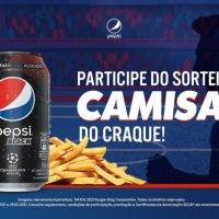 BURGER KING E PEPSI® SORTEIAM CAMISA AUTOGRAFADA POR ÍDOLO DO FUTEBOL