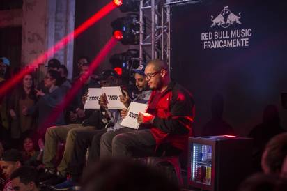 Judges are seen during Red Bull Francamente in Sao Paulo, Brazil on June 08, 2018 // Fabio Piva/Red Bull Content Pool // SI201806090057 // Usage for editorial use only //