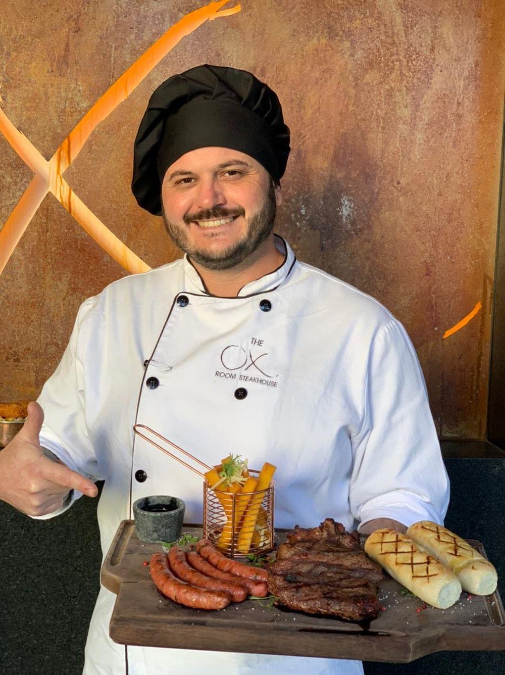 ox room steakhouse - promo dia dos pais 1 chef leandro fernandes - foto divulgacao