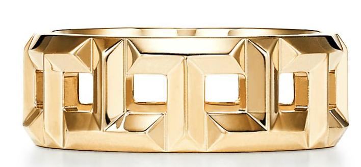 Tracee Ellis Ross_Anel Tiffany T True 8 mm em ouro 18k