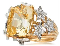 Tracee_Ellis_Ross_Anel_estrela_Tiffany&Co_Schlumberger_®_em_ouro_amarelo_18k_e_platina_com_safira_amarela_de_mais_de_12_quilates_e_diamantes_redondos_brilhantes