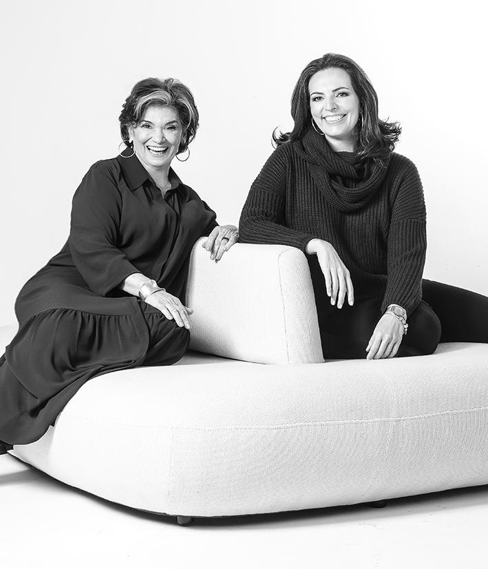 Yara Mendes e Ana Cláudia Marini