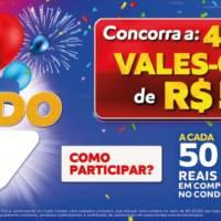 Campanha Aniversário Premiado Condor segue até 4 de novembro